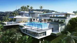 Modern Natural Resort Design And Elegant Exterior Luxury Homes In ...