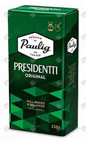 Купить Молотый <b>кофе Paulig Presidentti Original</b>, 250 гр. по цене ...