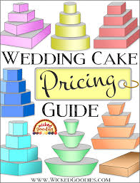Cake Size And Price Chart Wedding Cake Pricing