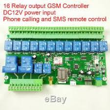 Gsm Sms 16 Relay Output <b>Remote Switch</b> For <b>Industrial Wireless</b> ...