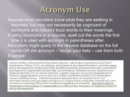 Fascinating Resume Acronyms 91 With Additional Creative Resume With Resume  Acronyms
