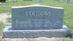 Bernice Echols (1917-1999) - Find A Grave Memorial