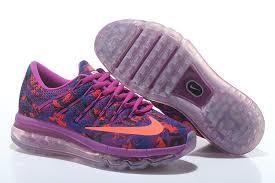 nike running shoes 2016 air max. nike air max 2016 print women\u0027s running shoes purple m