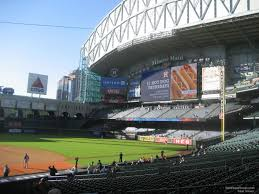 Minute Maid Park Section 124 Houston Astros