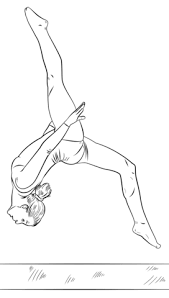 Small Picture Gymnastics coloring pages Free Coloring Pages