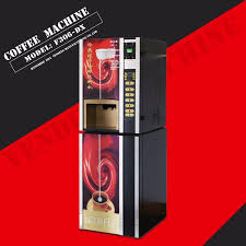 Best Coffee Vending Machine Inspiration China Coin Operated F48Dx Table Top Coffee Vending Machine China