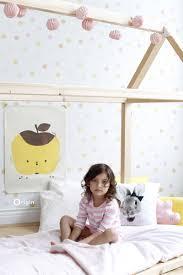 Wallpaper Polka Dots Light Pastel Yellow Light Pastel Peach Orange