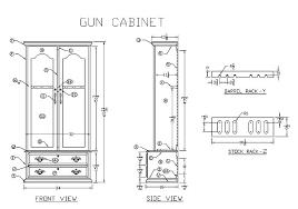 cabinet plans dimensions
