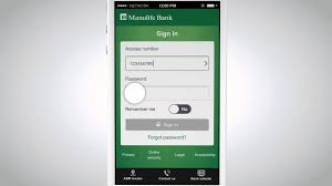 manulife bank mobile how to log in