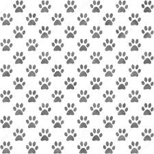 Paw Print Pattern Custom Inspiration Design