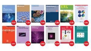 Journal Of Materials And Design Impact Factor Iop Publishing Journals See Substantial Journal Impact