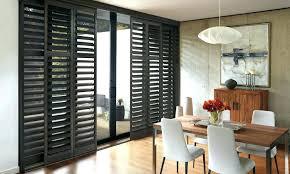 plantation shutters for sliding glass doors or glass door shutters plantation shutters for sliding glass doors