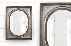 tin framed wall mirror metal wall mirror oval wall mirror tin roof mirror