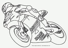 Kleurplaat Moto Afb 9787 Images
