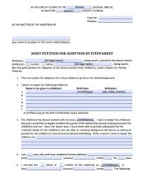 Florida Adoption Forms A List Of Forms And Instructions