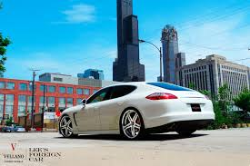 porsche panamera water city car