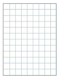 School Smart Graph Paper 1 Inch Rule 9 X 12 Inches Manila Pack Of 500