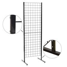 patented folding 3 inch grid wall