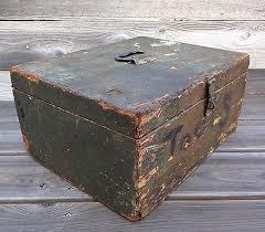 vintage wood storage box vintage wood toolbox small parts storage farm