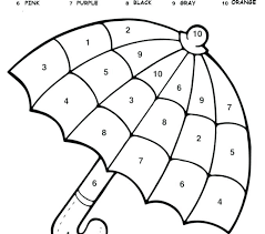 Number 6 Worksheets For Preschoolers Coloring Numbers For