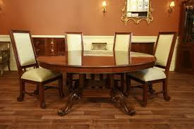 Round Formal Dining Tables Starrkingschool - Formal oval dining room sets