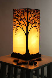 stained glass lamp by alphacraftsderry on