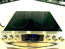 black glass top range stove mac and cheese with gas repair