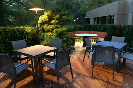 Commercial Outdoor Relaxation Seating And Dining Area With Commercial Outdoor Dining Areas