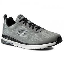 skechers dual lite mens. shoes skechers - air infinity 51484/lgbk light gray/black skechers dual lite mens