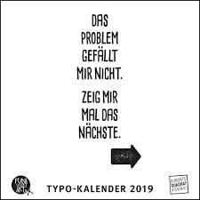 Sprüche Im Quadrat 2019 Typo Kalender Von Funi Smart Art Funny