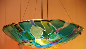 Blown Glass Pendant Lighting For Kitchen Interesting Hand Blown Glass Shades Pendant Lights Home Lighting