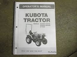 kubota b7100 zeppy io kubota b5100 d e b6100 d e b7100 d e tractor owners maintenance manual