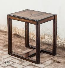 deni wood end table rustic side tables and end tables rustic end tables with storage
