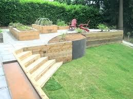 inexpensive retaining wall ideas est phenomenal garden home design wood