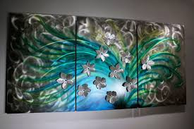 fl art metal wall sculpture abstract home decor painting with regard to 2017 sculpture