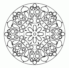 Small Picture Free Mandala Coloring Pages For Adults Printables Coloring Home