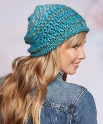 Free Knitted Hat Patterns Mesmerizing Simple Style Hat Red Heart