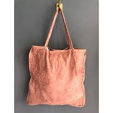 totem salvaged petal leather tote 220 00