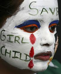 photo story female feticide and infanticide in  the problem of female feticide and infanticide is urgent and needs to be heard about worldwide the girl in this photo wears bright attention grabbing face