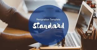 Free Download Letter Download Seeks Free Standard Resignation Letter Template