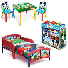 Delta Children Mickey Mouse 3Piece Toddler Bedroom Set