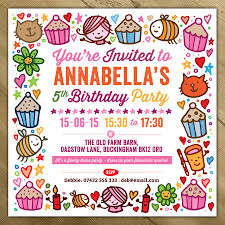 Childrens Party Invitations