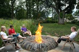 rustic fire pit. Rustic Fire Pit Home Inspirations Source A Kit Depot River Rock Ideas Stones Wood Burning Stone Seating