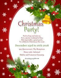 Christmas Invitation Ideas Christmas Party Invitation Nice Christmas Party Invitations