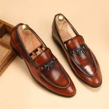 senarai harga zyats new wind retro tassel small leather shoes men formal shoes loafers terbaru di malaysia