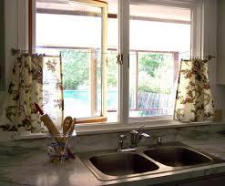 Kitchen Sink Window Kitchen Window Curtain Ideas Kitchen Window Treatments On