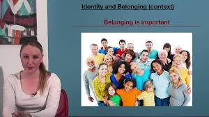 vce english identity and belonging context