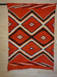 Blue navajo rugs Germantown Charleys Navajo Rugs Wedge Weave Navajo Blanket With Indigo Blue 880