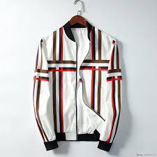 New Designer Coats 19ss New Mens Designer Jackets Fashion Coat Luxury Sweatshirt Men Jacket Sportswear Zipper Brand Windbreaker Mens Designer Coats Brown Oversized Coat