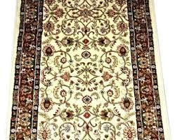 custom length runner rugs custom rug runners dean classic ivory mocha custom length carpet rug runner